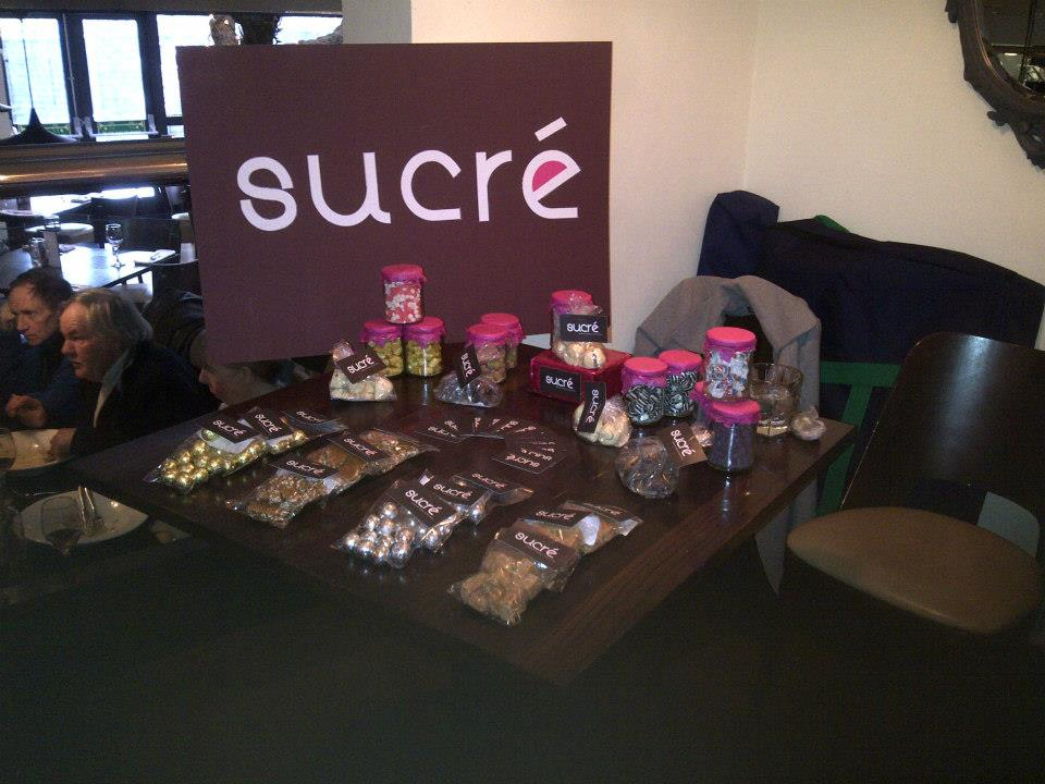Our lovely stall at Gusto's Afternoon Tea.
